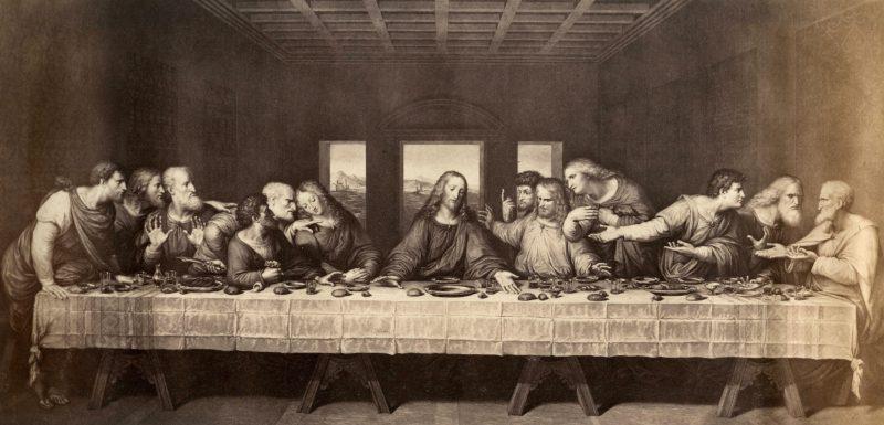 Leonardo da Vinci, Ostatnia Wieczerza.